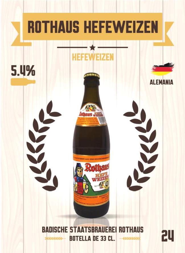 Cromo número 24 de la colección Cervezas del mundo
