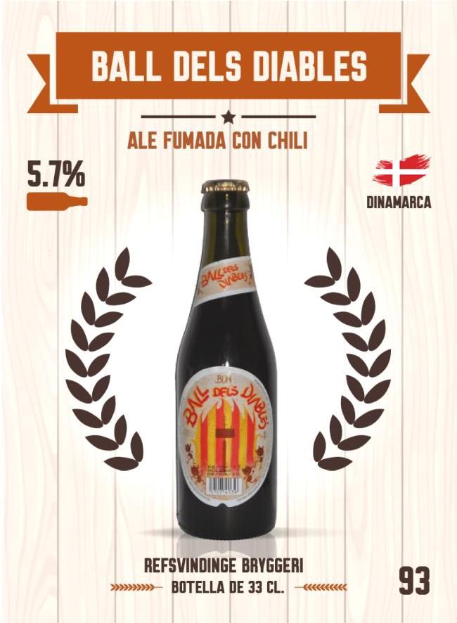 Cromo número 93 de la colección Cervezas del mundo