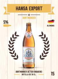 Hansa Export. Cromo 15