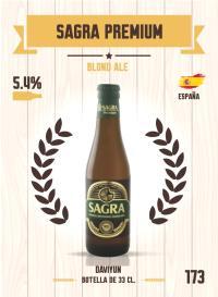 Cromo 173. Sagra Premium