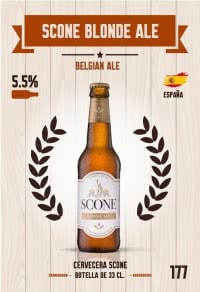 Scone Blonde Ale. Cromo 177