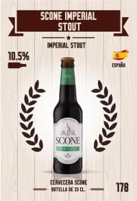 Scone Imperial Stout. Cromo 178