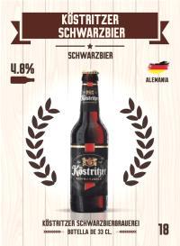 Köstritzer Schwarzbier. Cromo 18