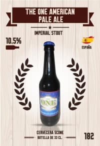 Cromo 182. The One American Pale Ale