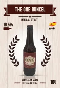 Cromo 184. The One Dunkel