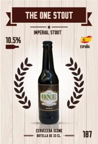 The One Stout. Cromo 187