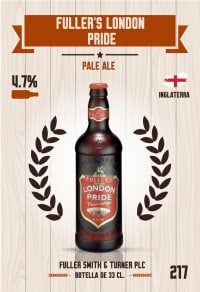 Cromo 217. Fuller's London Pride