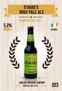 Cromo 223. O'Hara's Irish Pale Ale