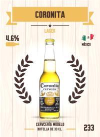 Cromo 233. Coronita