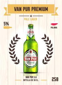 Van Pur Premium. Cromo 258