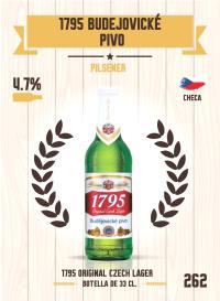 Cromo 262. 1795 Bud?jovické Pivo