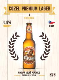 Kozel Premium Lager. Cromo 276