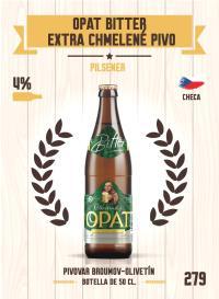 Opat Bitter Extra Chmelené Pivo. Cromo 279