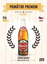 Cromo 289. Primátor Premium