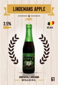 Lindemans Apple. Cromo 61