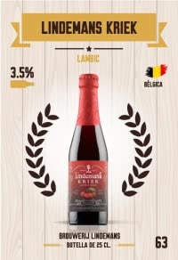Cromo 63. Lindemans Kriek