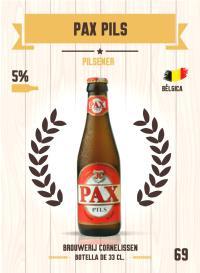 Pax Pils. Cromo 69