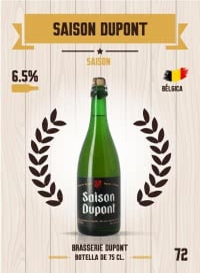 Saison Dupont. Cromo 72