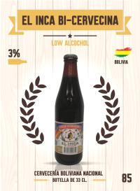 El Inca Bi-Cervecina. Cromo 85
