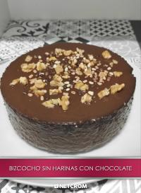 Cromo 22. Bizcocho sin harinas con cobertura de chocolate