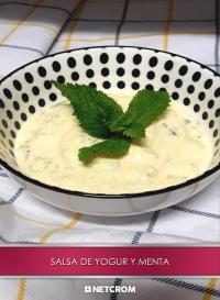Cromo 23. Salsa de yogur y menta