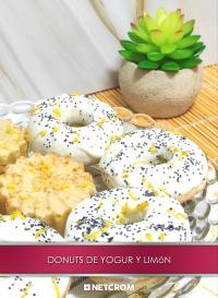 Cromo 3. Donuts de yogur y limón