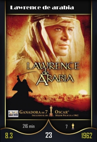 Cromo 23. Lawrence de arabia