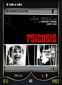 Psicosis. Cromo 41