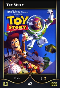 Toy Story. Cromo 43