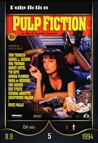 Cromo 5. Pulp fiction