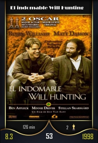 El indomable Will Hunting. Cromo 53