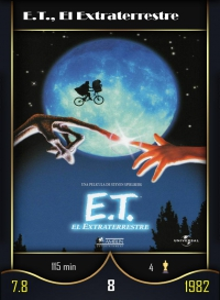 E.T., El Extraterrestre. Cromo 8