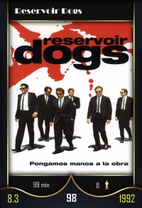 Cromo 98. Reservoir Dogs