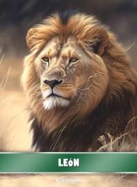 Cromo 28. Elefante