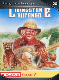 Livingstone Supongo. Cromo 20