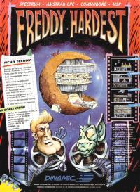 Freddy Hardest. Cromo 31