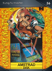 Kung fu master. Cromo 36