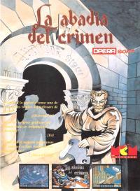 La abadía del crimen. Cromo 4