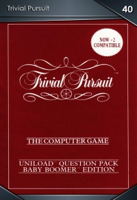 Trivial Pursuit. Cromo 40
