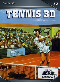 Cromo 52. Tenis 3D