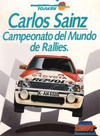 Carlos Sainz. Cromo 85
