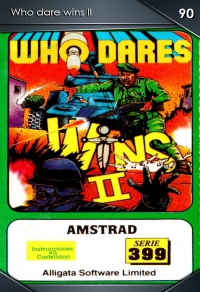 Who dare wins II. Cromo 90