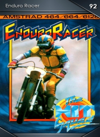 Enduro Racer. Cromo 92