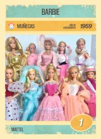 Cromo 1. Barbie
