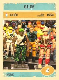 Cromo 4. G.I.Joe