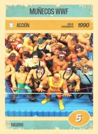Muñecos WWF