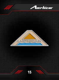 Amphicar. Cromo 15