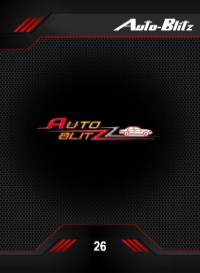 auto-Blitz. Cromo 26