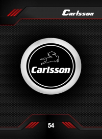 carlsson. Cromo 54