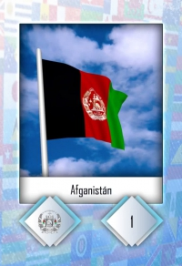 Cromo 1. Afganistán